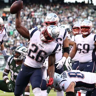Patriots Ridiculously Successful With 100-Yard Rushers