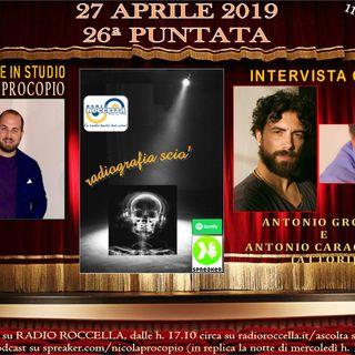 Radiografia Scio' - N.26 del 27-04-2019