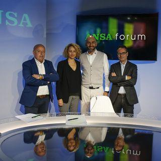 Forum ANSA con Vincenzo Bianconi