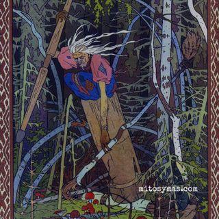 Baba Yaga y Vasilisa la Bella, un cuento de brujas,,,