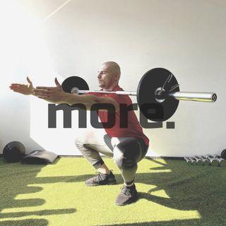 more. than training ep.8 - Bartek Komarek o przyspieszeniu, mocy i poprawie ogólnej atletyczności.