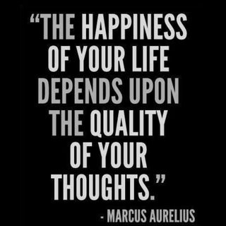 Change Your Thoughts to Happiness