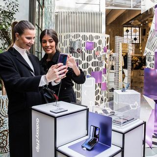 Pop-up Store Samsung a Milano - Radio Number One Tech