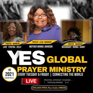 Yes Global Prayer Line - 05-14-2021