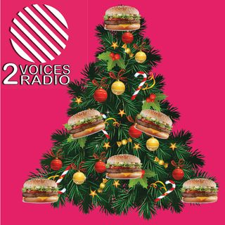 Massive Christmas burger, lame Christmas trees, Gloria Hunniford, ropey shopping centres, instore cafes, and tinned food EP15