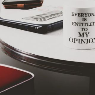 Opinionated: To Be Or Not!