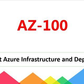 Azure Administrator AZ-100 dumps