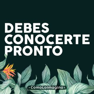 Ep4 - Debes conocerte pronto