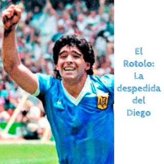 La despedida del Diego