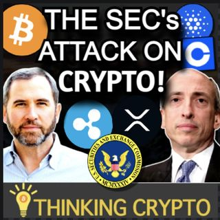 Ripple CEO Talks SEC Attack on Crypto & XRP - Dan Tapiero's 10T $750M Crypto - Standard Charter BTC & ETH Price Predictions