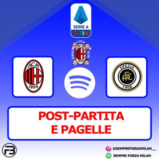 PRIMI!! MILAN-SPEZIA 3-0 | PAGELLE E POST PARTITA