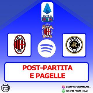 PRIMI!! MILAN-SPEZIA 3-0 | PAGELLE E POST PARTITA