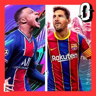 FIFA 21 vs PES21 El mismo juego con camisetas distintas