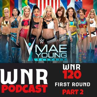 WNR120 WWE MAE YOUNG CLASSIC FIRST ROUND P2