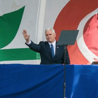 Pence Makes History At March For Life