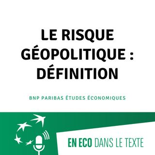 #01 - Le risque géopolitique : définition