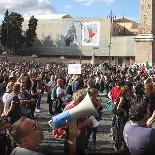 Manifestazione Roma 09/10/2021 - Chat vocale parte 2