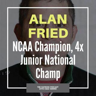 Ohio wrestling legend Alan Fried
