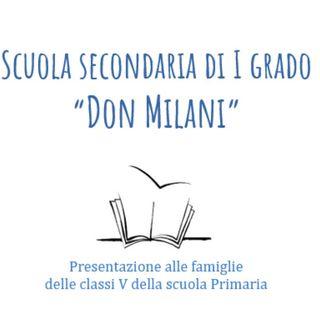 Open day Scuola Don Milani - 9 dicembre 2020