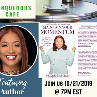 Conquerors Cafe Author Spotlight Featuring Author Nicole Mason