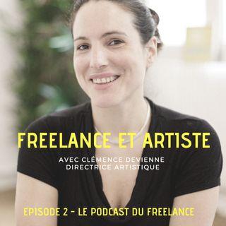 Clémence Devienne, graphiste ET artiste