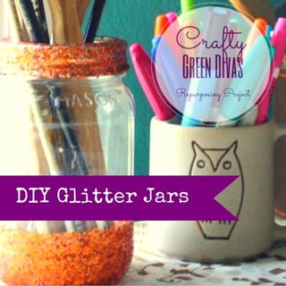 Green Divas DIY: Glitter Jar Fun