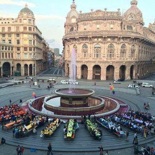 Genova come la Fenice