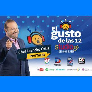 El Gusto de las 12-Episodio 86- 28 Octubre-2019 Chef Leandro Diaz