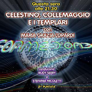 Forme d'Onda - Maria Grazia Lopardi - Celestino, Collemaggio e i Templari - 14-03-2019