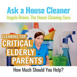 Critical Elderly Parents and House Cleaning (Senior Care Tips)