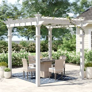 Aluminum Pergola - advanced opening and closing louvered roof system