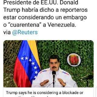 #2Ago ASÍ AMANECE VENEZUELA Trump Endurece Y DIOSDADO afloja