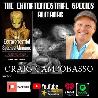 The Extraterrestrial Species Almanac with author Craig Campobasso