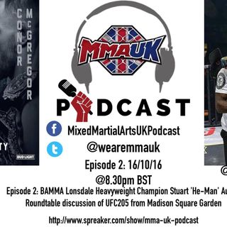 MMA UK Podcast 16th of October