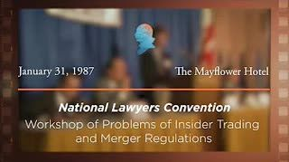 Workshop on Problems of Insider Trading and Merger Regulations [Archive Collection]