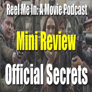 Mini Review: Official Secrets