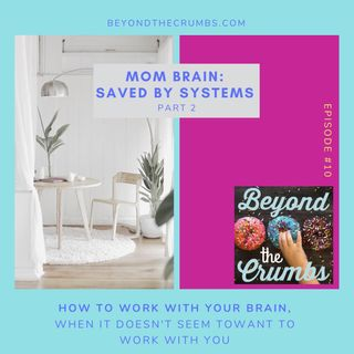10. Mom Brain: Saved by systems, part 2