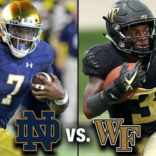 Irish Football Weekly W/Tony Hunter: Notre Dame-Wake Forest Preview