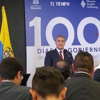 Así han sido los 100 primeros días de gobierno del presidente Iván Duque