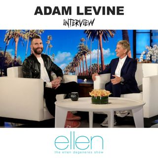 ADAM LEVINE - The Ellen Show Interview | Adam Levine Is Now a Stay-at-Home Dad | Full Interview