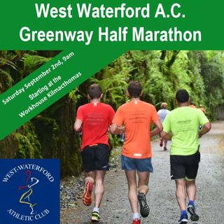 James Veale, West Waterford AC - Greenway half-marathon