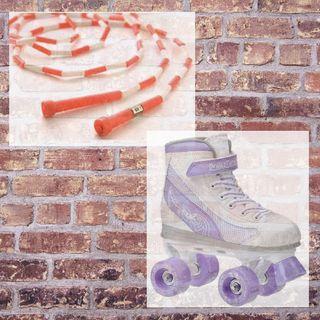 Jump Ropes & Roller Skates (Poem)