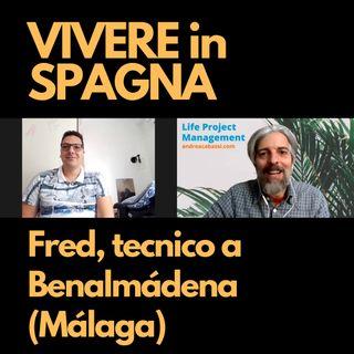 Fred, tecnico elettronico a Benalmádena (Malaga)
