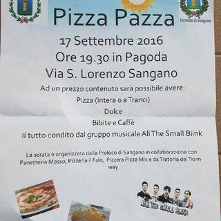 Pizza in Piazza ....in PAGODA Il 17 Settembre Ore 19.30