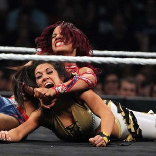 DAY ONE! Bayley vs Sasha Banks!!!
