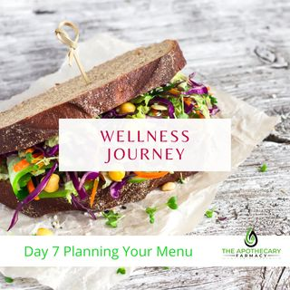 Ep: 7 Planning Your Menu- 40 Day Wellness Journey