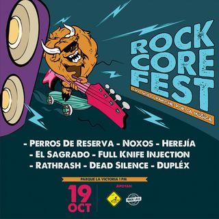 Rock Core Fest, Efemérides, lanzamientos y más en UR Rock