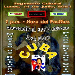 Homenaje al poeta clásico cubano, José Martí * Al piano, Enrique Chía - Cuba
