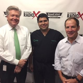 Dr. Mike Majmundar with Northside Plastic Surgery and Alex Van Winkle with Van Winkle & Associates
