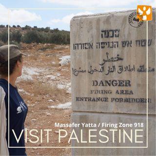 Visit Palestine: 05 Massafer Yatta - Firing zone ed esercitazioni militari